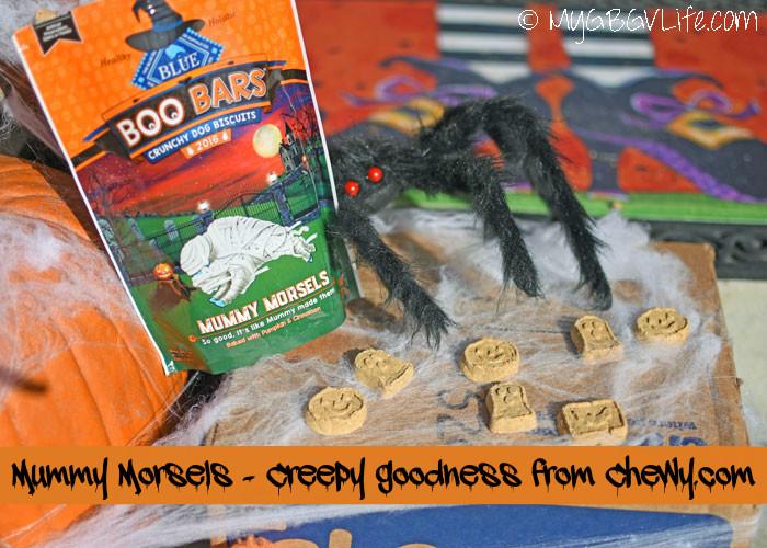 My GBGV Life Mummy Morsels - Totally Creepy Goodness #ChewyInfluencer