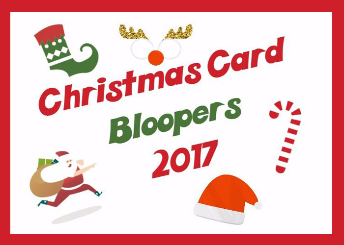 My GBGV Life Photo Shoot Bloopers From Our 2017 Christmas Card