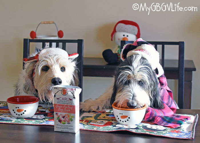 My GBGV Life Warm Up Your Pup With All Natural Bone Broth