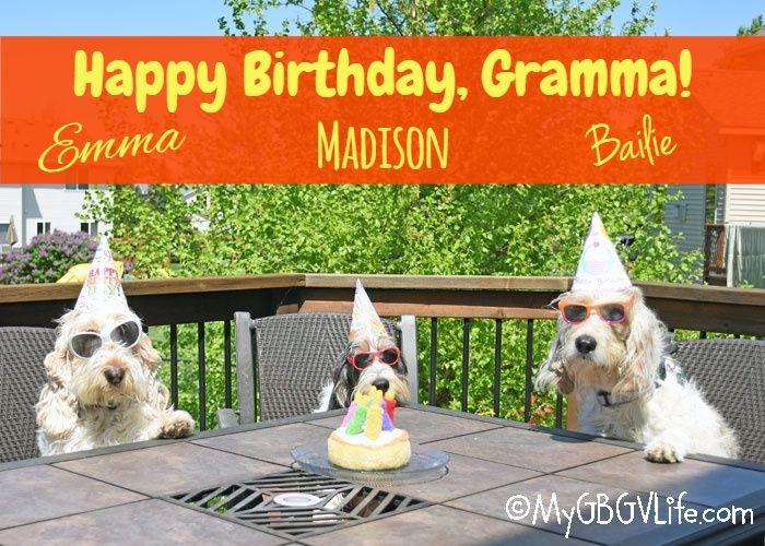 My GBGV Life I'm Thankful For My Gramma! Happy Birthday, Gramma!