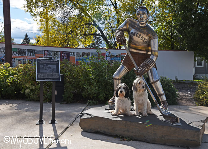 My GBGV Life The Home Of Hockey In America - Bailie And Madison Pay A Visit