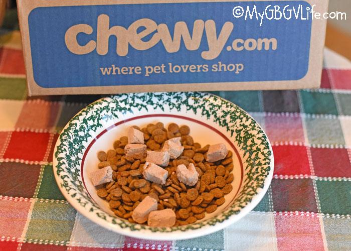 My GBGV Life Tasty Freeze Dried Beef Treats Via The North Pole #ChewyInfluencer