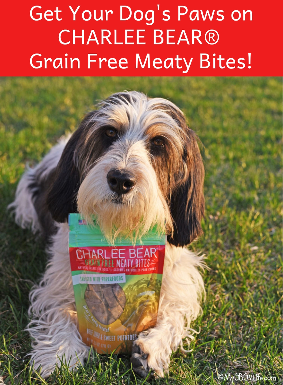 My GBGV Life Get your paws on a bag of CHARLEE BEAR Meaty Bites