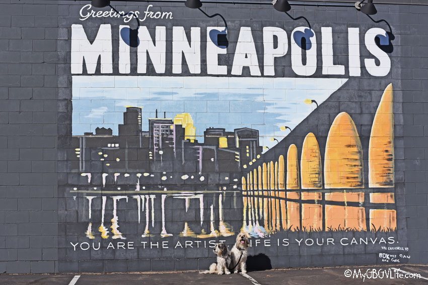 My GBGV Life Greetings From Minneapolis - Street Art