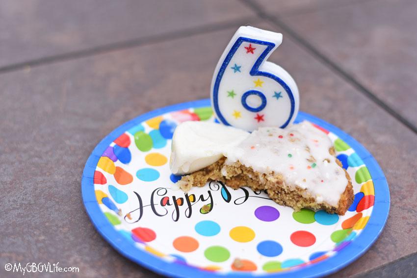 My GBGV Life cake and ice cream