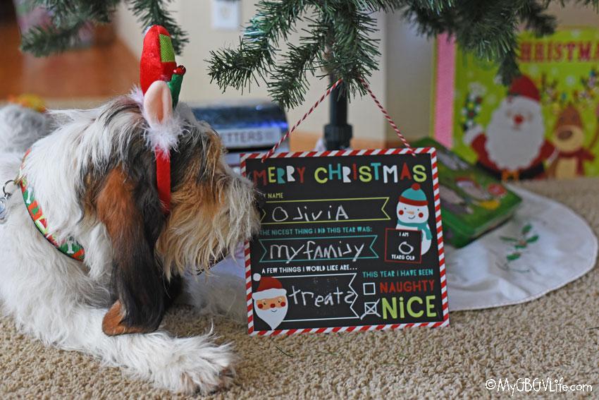 My GBGV Life Olivia Starts Her Santa Preparations