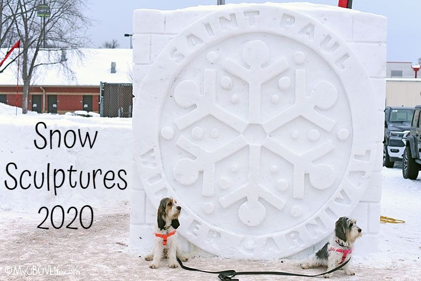 My GBGV Life The St. Paul Winter Carnival Snow Sculpture Contest 2020