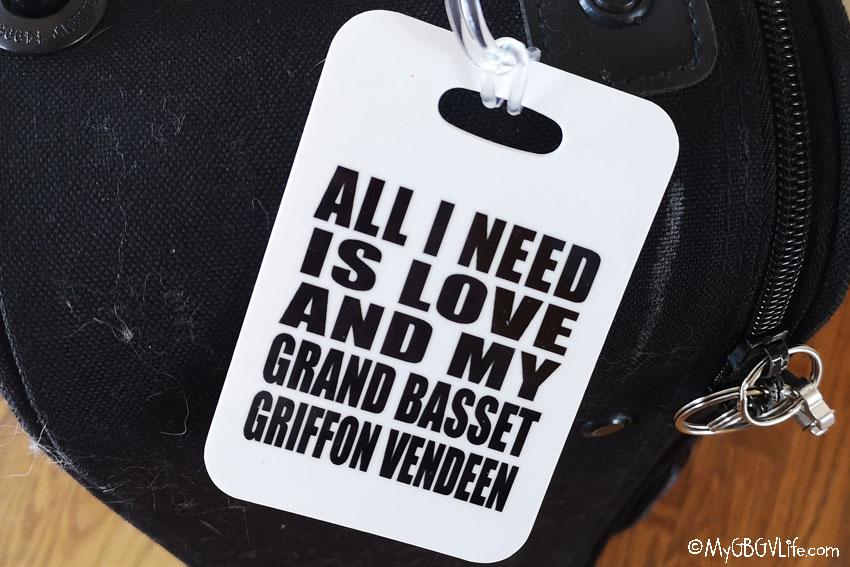 My GBGV Life luggage tag