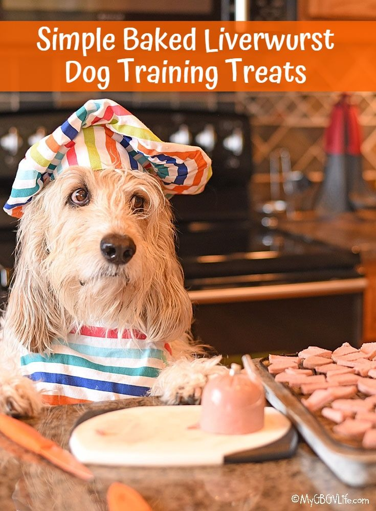 My GBGV Life Simple Baked Liverwurst Dog Training Treats