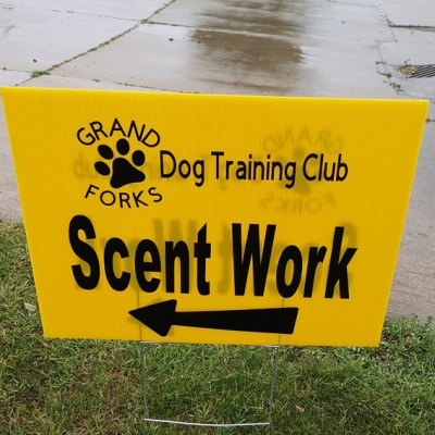 Scent Work Results From Grand Forks, North Dakota