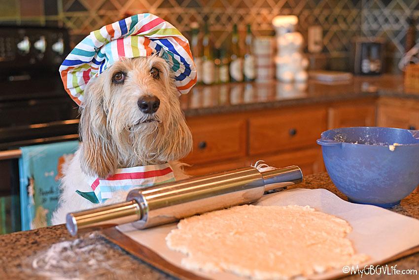 My GBGV Life rolling the dough