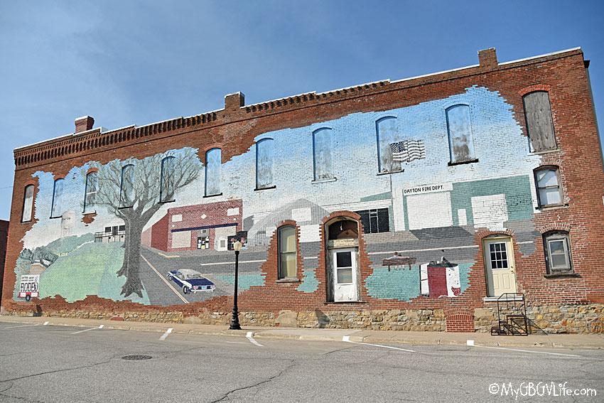 My GBGV Life Dayton mural