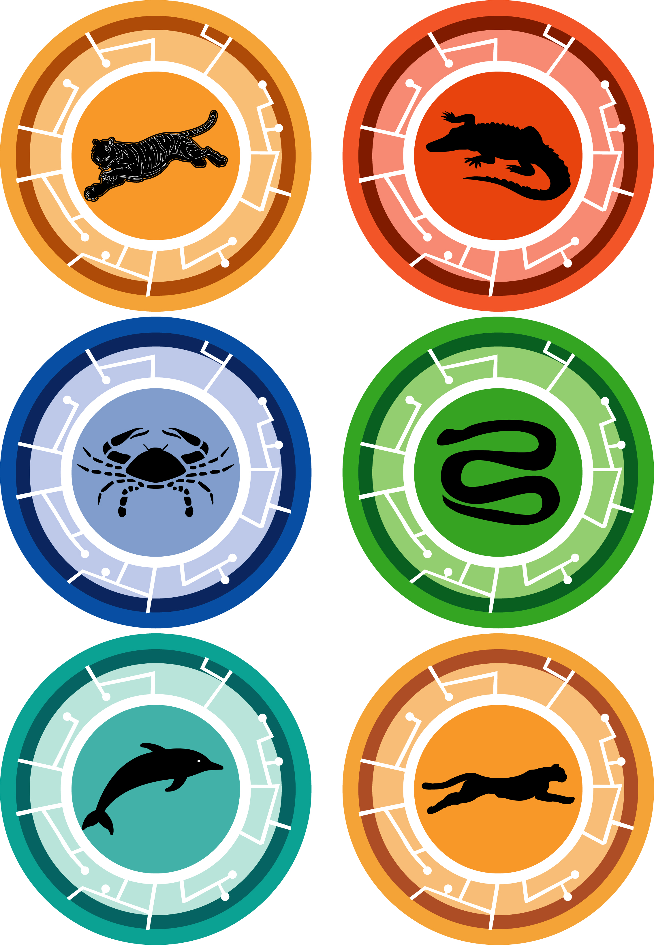 picture regarding Wild Kratts Creature Power Discs Printable identified as Wild Kratts Creature Electricity Disks