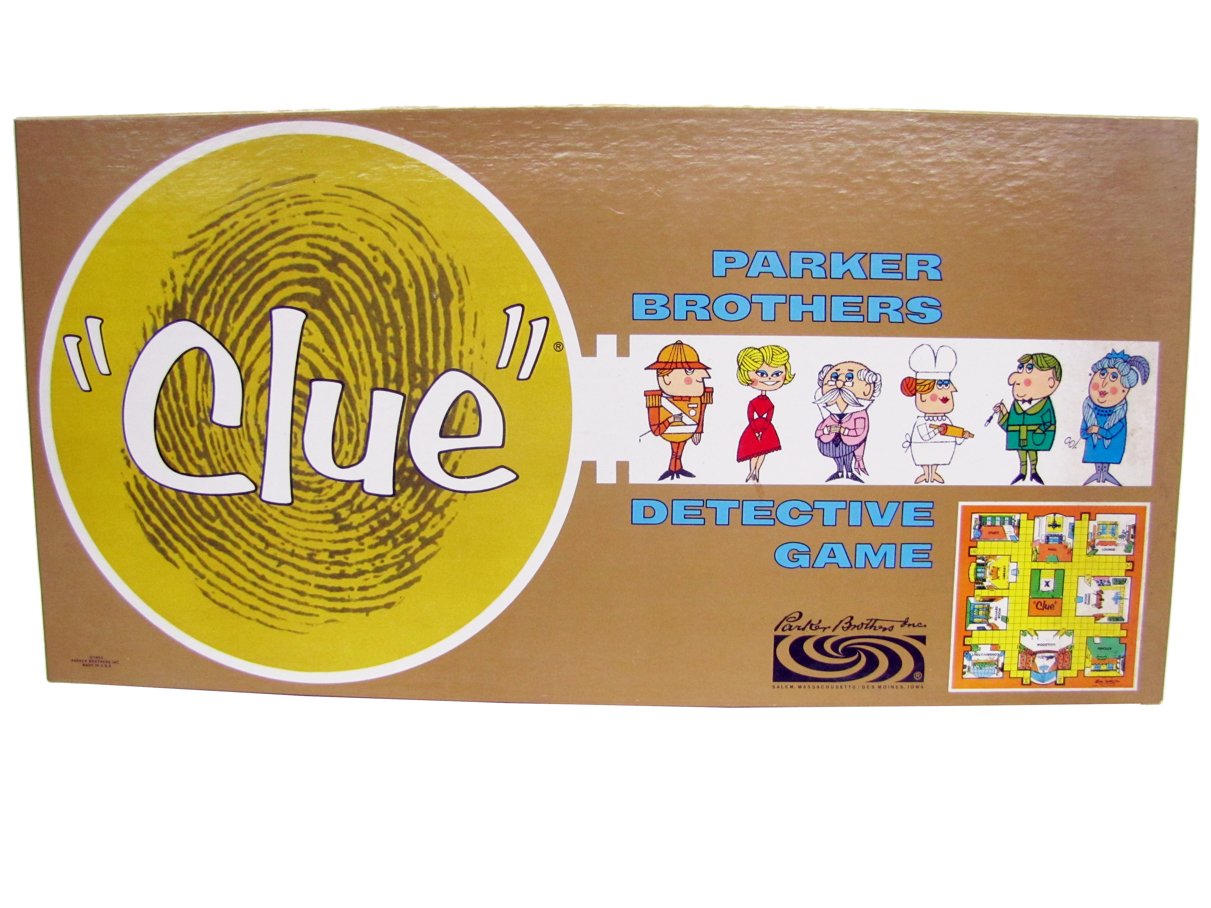 Hasbro Clue Worksheet