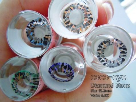 Coco Eye Diamond 3 Tone 18,2mm
