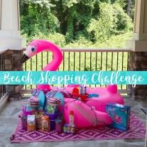 Beach Shopping Challenge