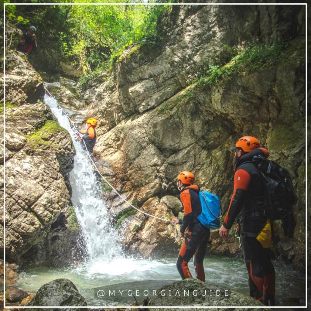 canyoning tours georgia
