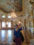 The ballroom at the Royal Castle. (This is definitely how selfies work, right?)