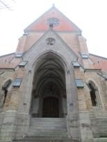 Side doorway of the chapel
