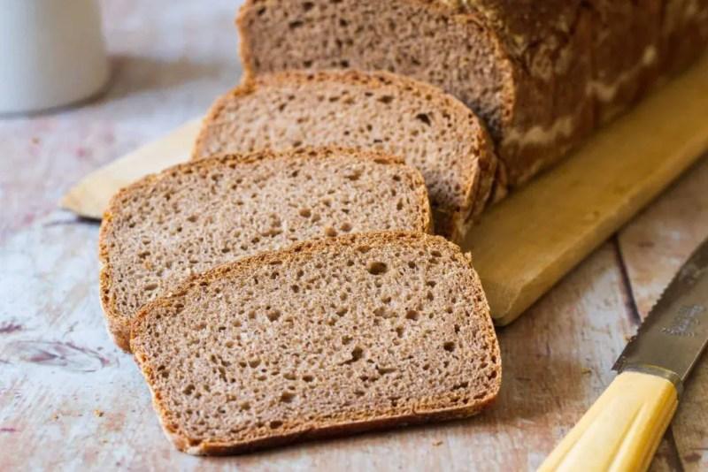 German-style rye whole wheat bread
