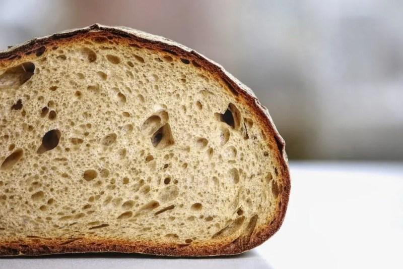 Bread crumb.