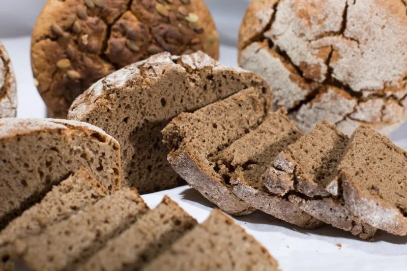 Selection of rye breads
