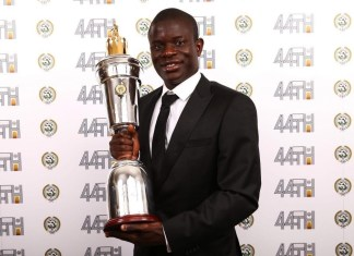 Chelsea's Kante named PFA Players' Player of the Year