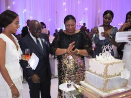 Prez. Akufo-Addo & the First Lady's 20th wedding anniversary celebrations