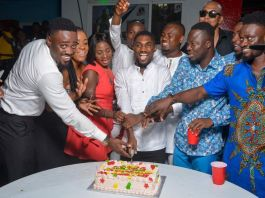 See the celebrities that stormed Blogger Gh Kwaku's Birthday Party