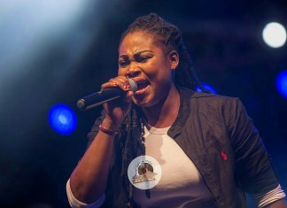 Ashaimantotheworld Concert: Joyce Blessing Outshines Secular Musicians With Live Performance