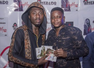 WATCH: Hundreds of fans attend Amerado's Rapmare EP Launch