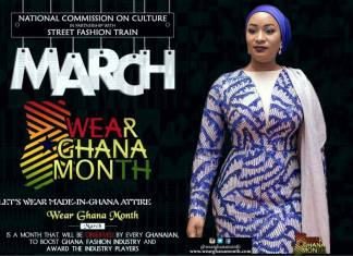 "PRESS RELEASE: ""Wear Ghana Month"" Kicks Start March 9th - 25th"