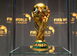 FIFA World Cup Trophy on Global Tour Arrives in Egypt