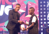 Huawei honours Patapaa with Most Popular Song of the Year Award at the MMC