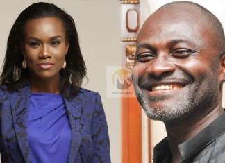 Late JB Danquah's wife replies Kennedy Agyapong over relationship with Anas comments