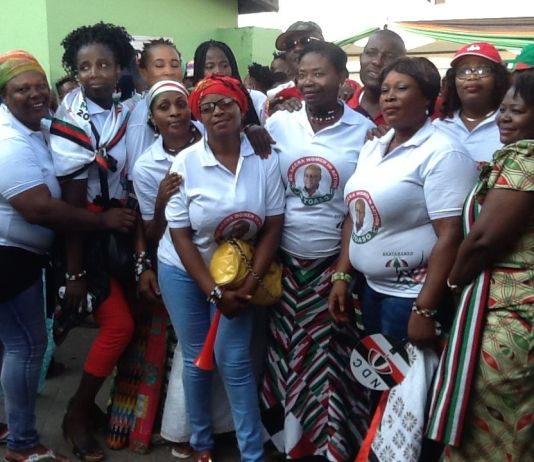 Nine women file to contest NDC elections in Central Region