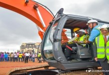 Tema motorway grade separation project starts