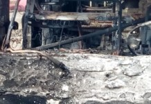 Tension at Ada over chief's burnt corpse