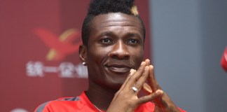 'I promise; I will play for Kotoko before I retire' – Asamoah Gyan