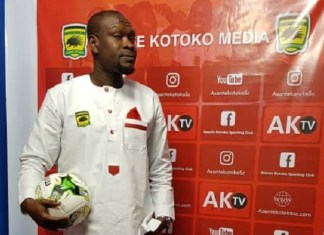 PHOTOS: CK Akunnor unveiled as new Kotoko coach