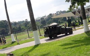Soldiers storm KNUST