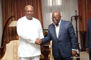 'I'm begging you to come for rematch in 2020' – Mahama to Nana Addo