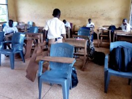 Free SHS: Koforidua SECTECH resort to plastic chairs in classrooms