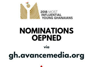 2018 50 Most Influential Young Ghanaians Nomination opened