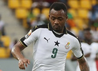 Jordan Ayew hits brace as Black Stars boost qualification chances