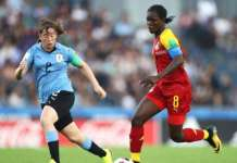 Black Maidens thrash hosts Uruguay 5-0 in World Cup