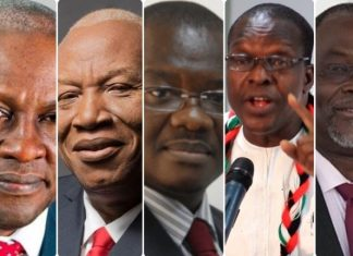 NDC flag bearer aspirants to pay GHC400,000 as filing fee