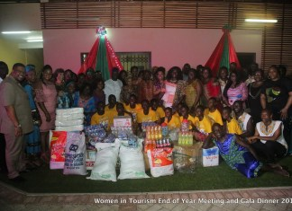 Women In Tourism donates to Cape Coast School of the Deaf and Blind