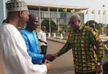 Mahama takes campaign to Parliament; meets Minority