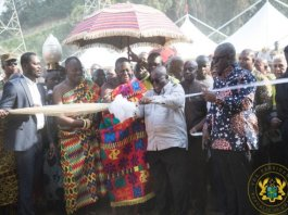Akufo-Addo reopens Obuasi gold mine